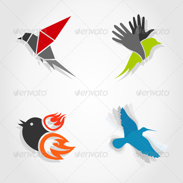GraphicRiver Birds 5962933