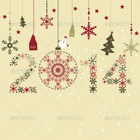 GraphicRiver New Year Card 5958545