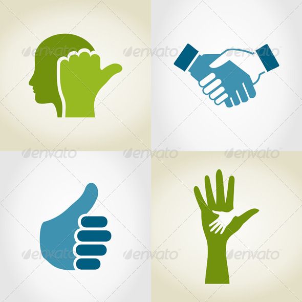 GraphicRiver Set of Hands 5 5963265
