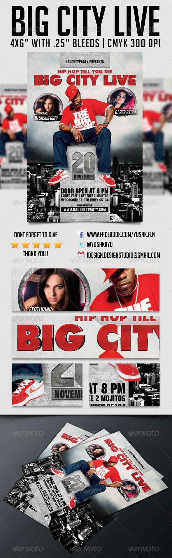 GraphicRiver Big City Live Party 5963267