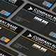 2 Color Grunge Business Card 01  - GraphicRiver Item for Sale