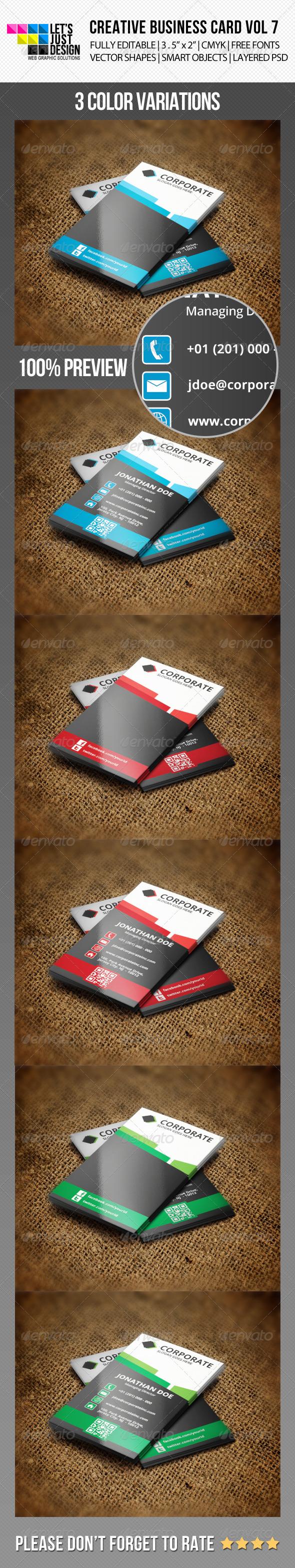 Creative Business Card Vol 7