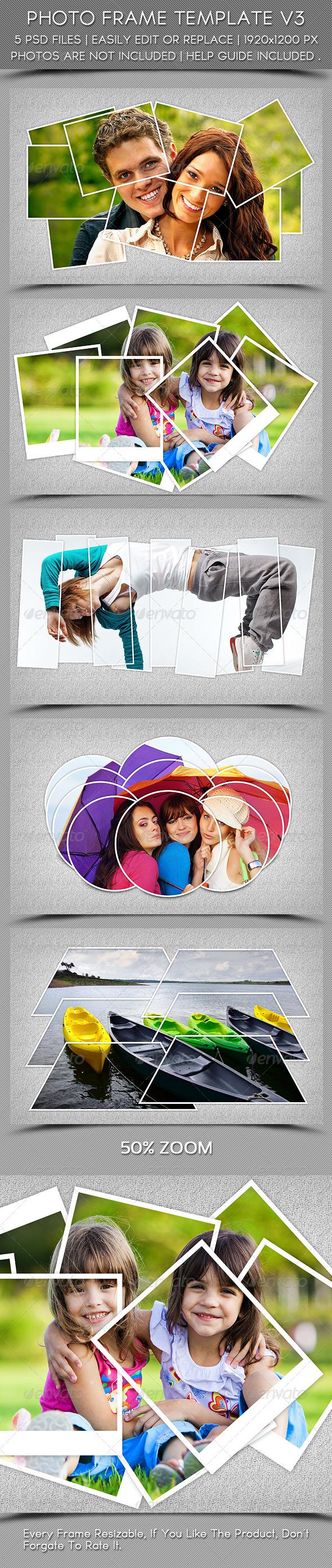 GraphicRiver Photo Frame Template V3 5965053
