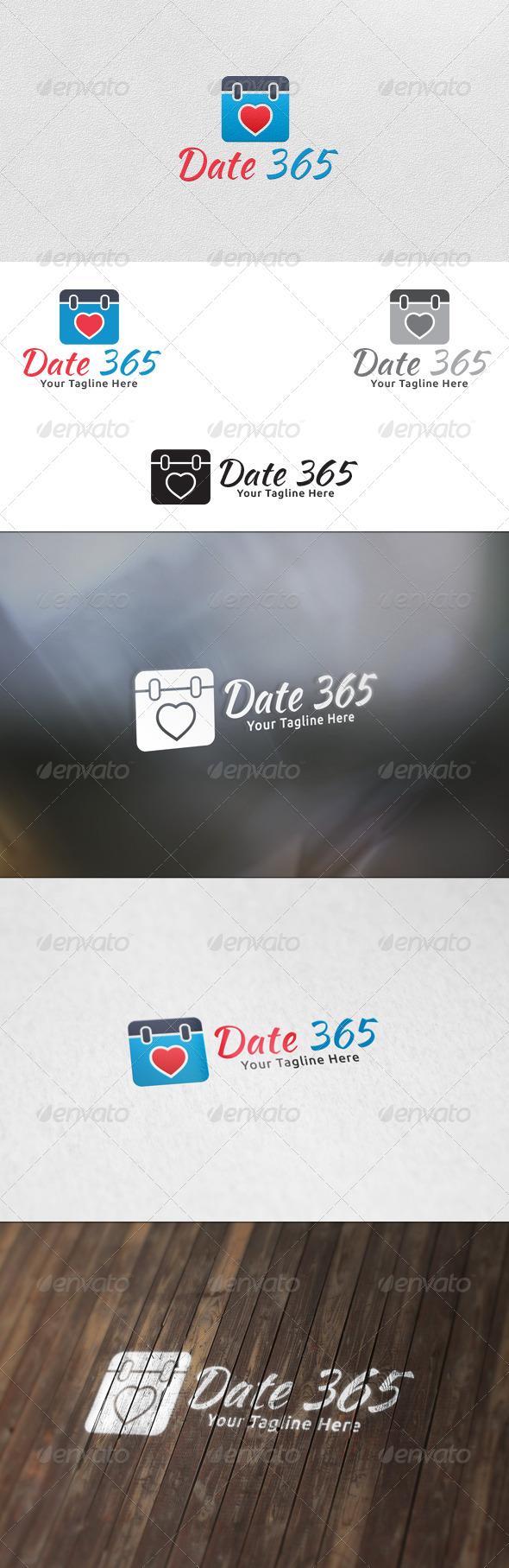 Date 365 Logo Template