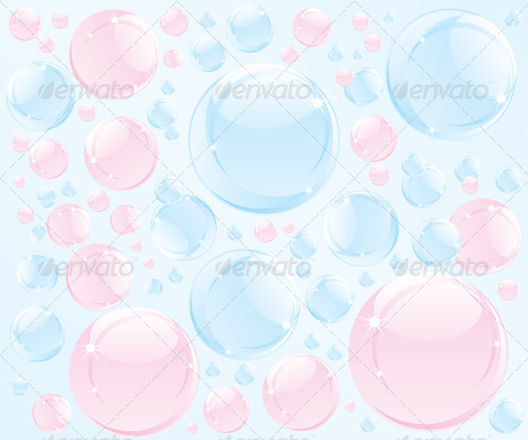 GraphicRiver Abstract Bubble Soap Illustration 5965214