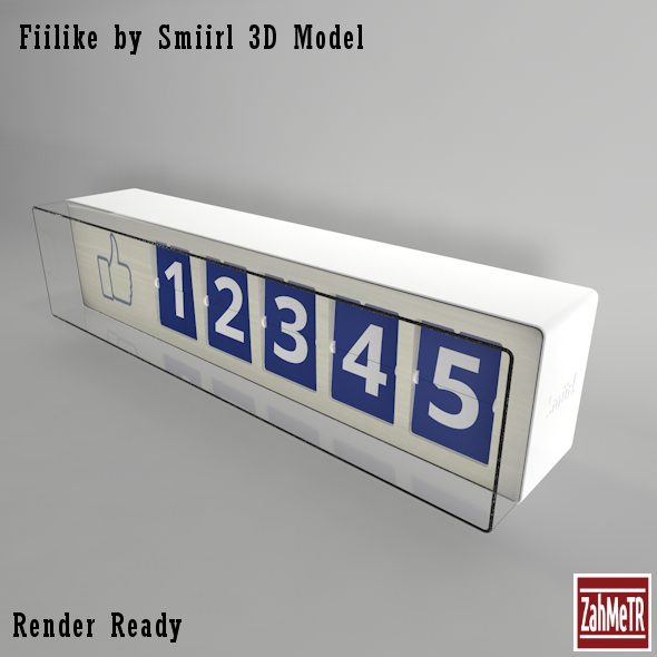 Fiilike by Smiirl 3D Model - 3DOcean Item for Sale