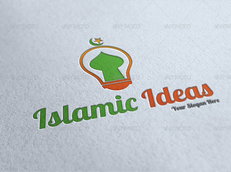 Islamic Ideas Logo Template By Owpictures Graphicriver