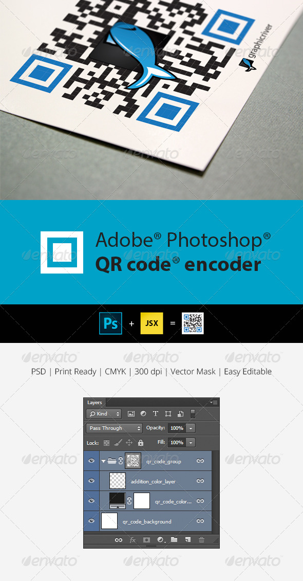 GraphicRiver QR Code Generator for Photoshop 5965378
