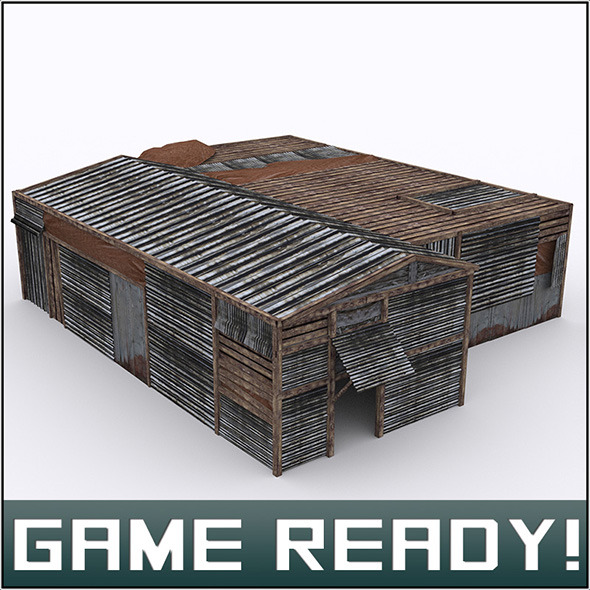 3DOcean Slums Building #2 5965643