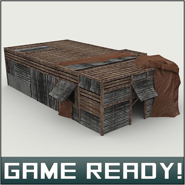 3DOcean Slums Building #3 5965666