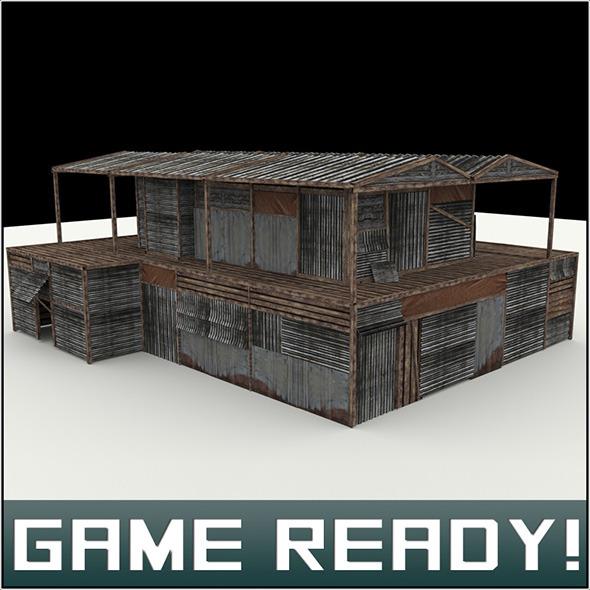 3DOcean Slums Building 6 5966216