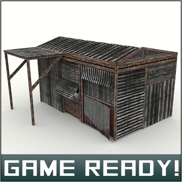 3DOcean Slums Building #8 5966350