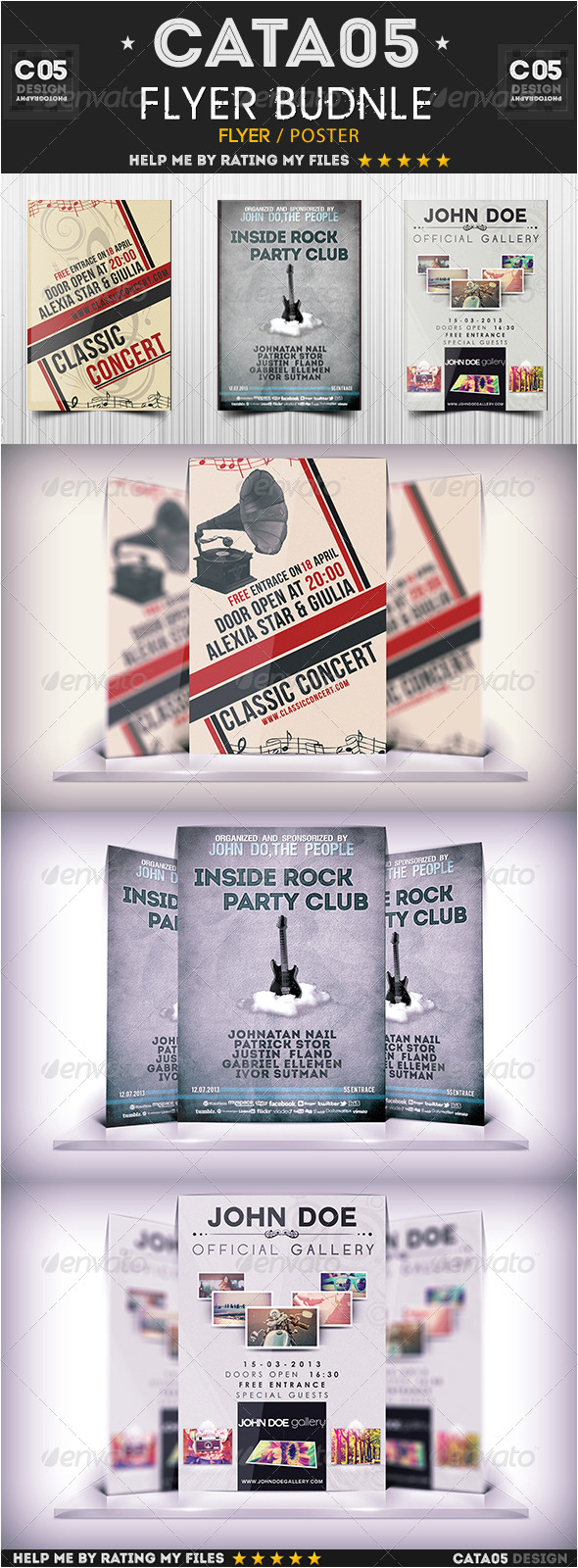 GraphicRiver Flyer Bundle Pack 2 5966462