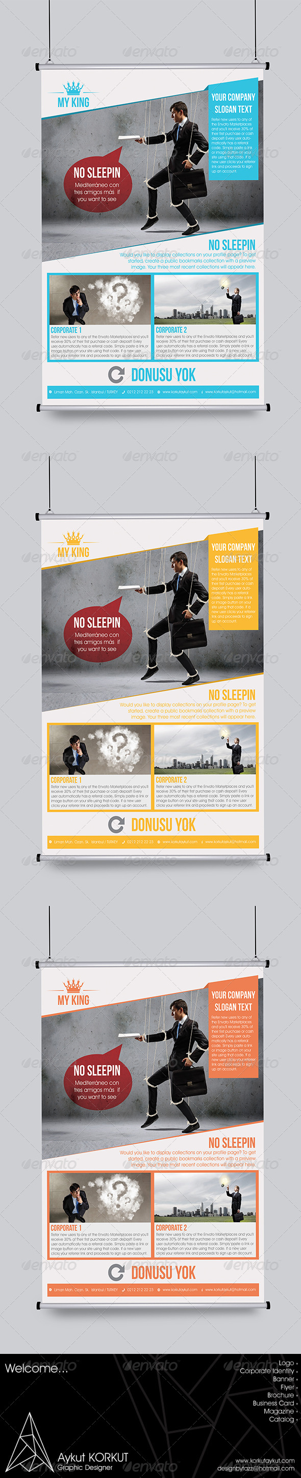 GraphicRiver My King Flyer Template 5966468