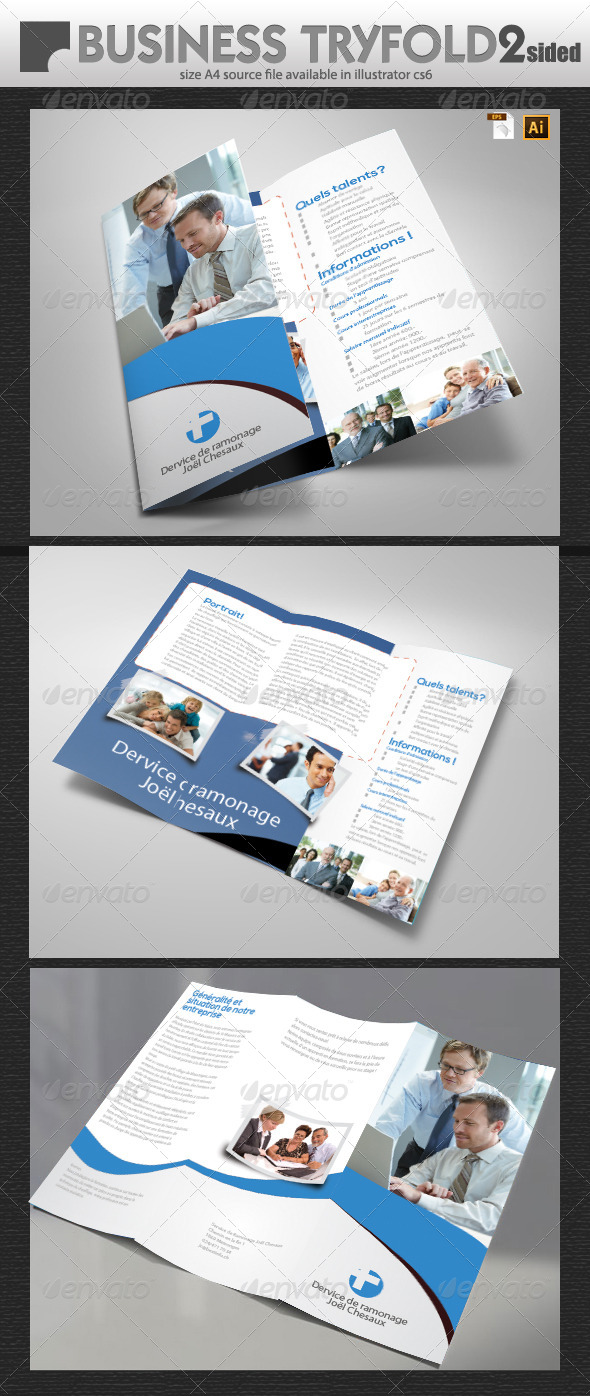 GraphicRiver Multi Purpose Tri-Fold 5966587