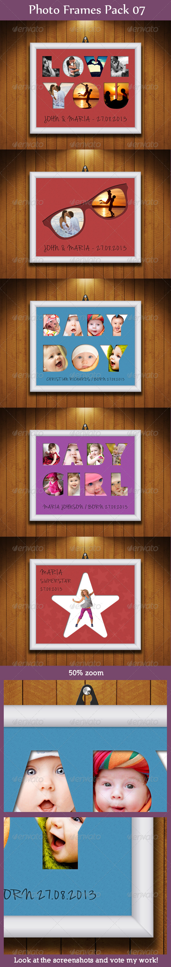 GraphicRiver Photo Frames Pack 07 5966667