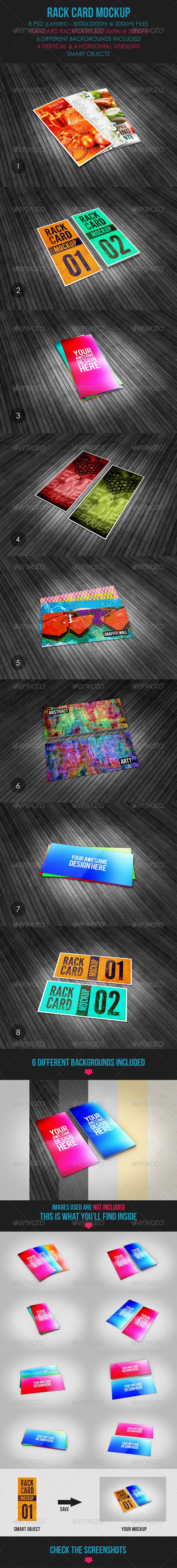 GraphicRiver Rack Card Mockup 5966720
