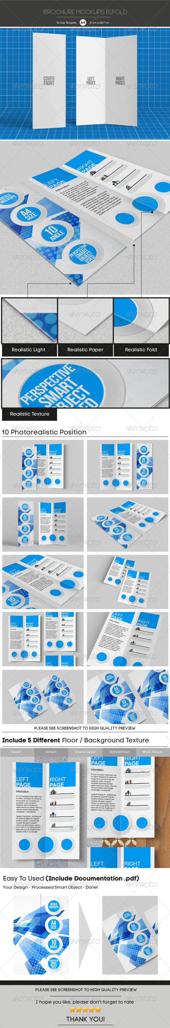 GraphicRiver Brochure Mockups 5863318