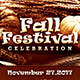 Fall Festival Celebration Flyer Template - GraphicRiver Item for Sale