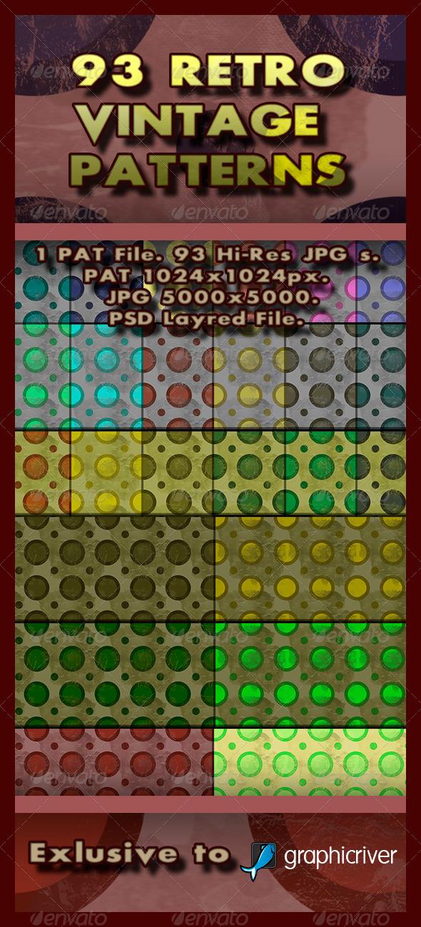 GraphicRiver 93 Retro Patterns 5967124