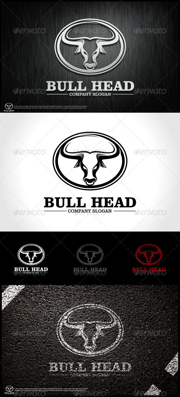 GraphicRiver Bull Head Logo Template 5967378