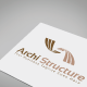 Archi Structure Logo Template - GraphicRiver Item for Sale