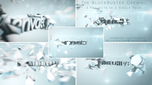 Blockbuster Trailer Vol.1 Clean Bright & Elegant