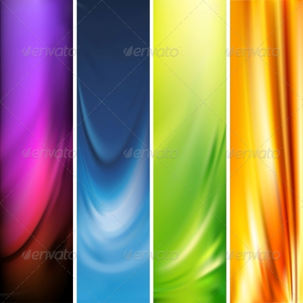 GraphicRiver Vector Vertical Banner 5967587