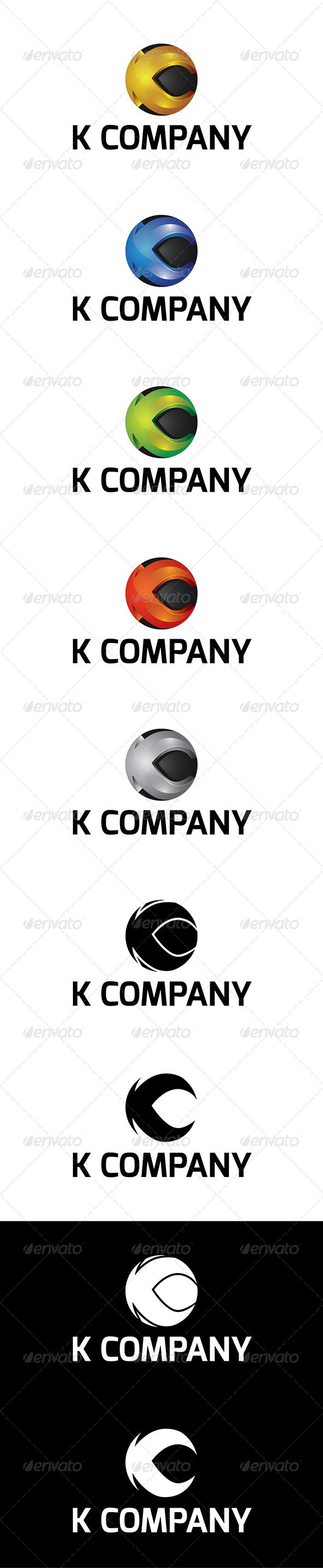 GraphicRiver K Company Logo 5967609
