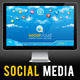 Social Cloud: Social Media PowerPoint Presentation - GraphicRiver Item for Sale