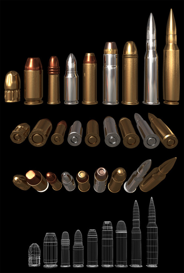 3DOcean Bullets 5968561