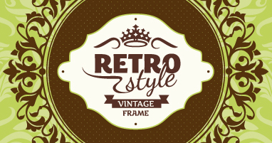 Vintage royal frames