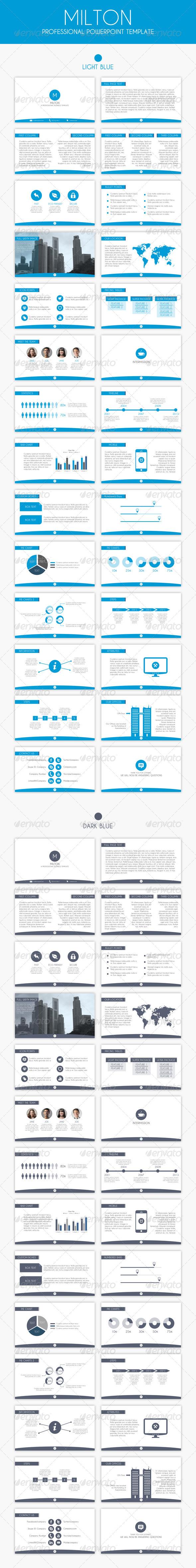 GraphicRiver Milton Professional Presentation 5968738