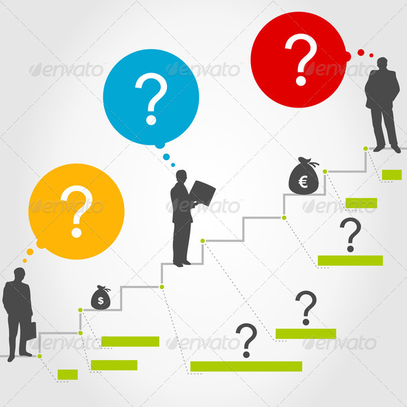 Business ladder3 - Stock Photo - Images