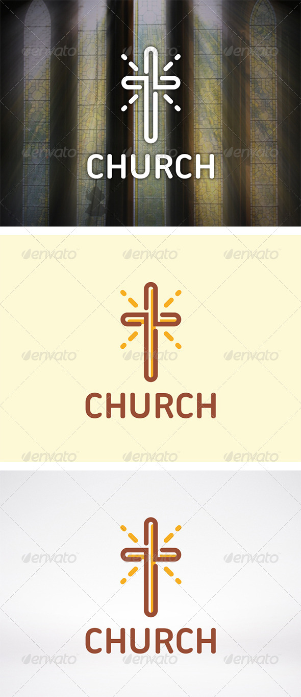 GraphicRiver Church Logo 5969742