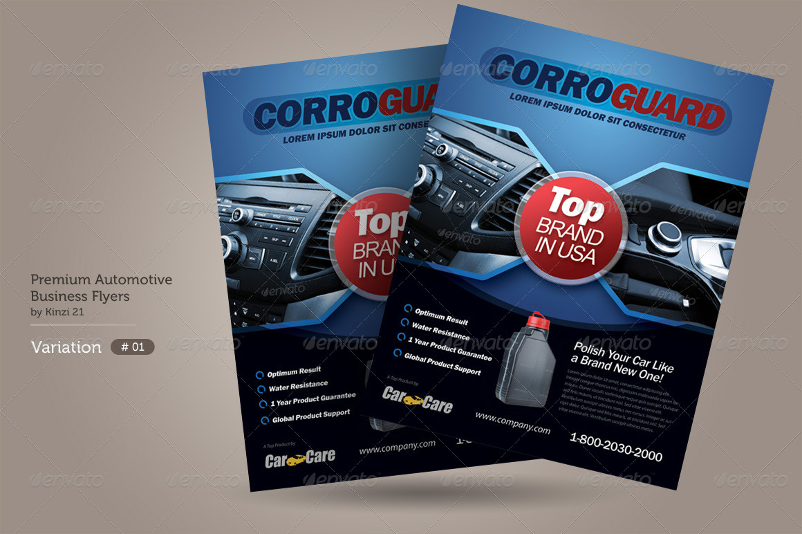 premium automotive business flyers by kinzi graphicriver premium automotive business flyers preview set 01 automotive product flyer template graphic river jpg