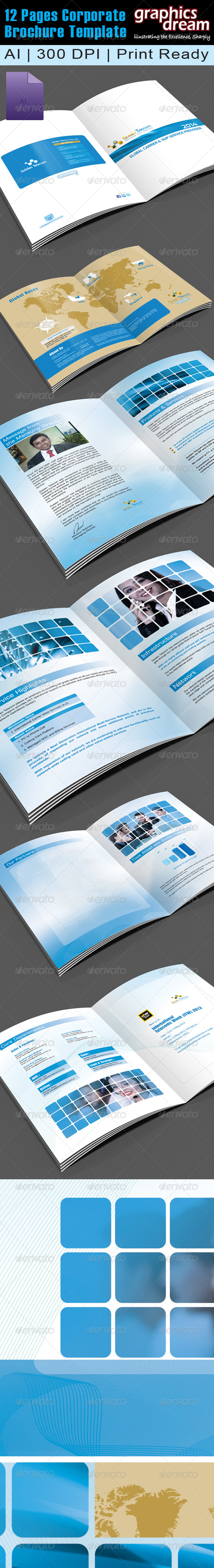 GraphicRiver 12 Pages Corporate Brochure 001 5970086