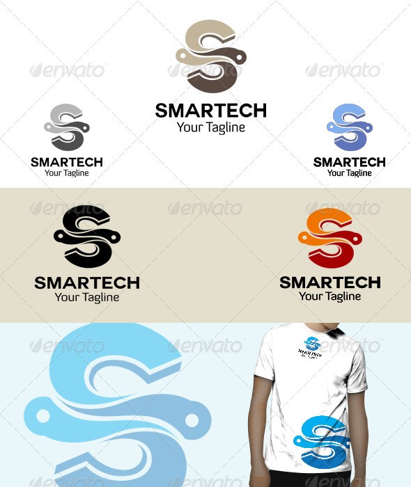 GraphicRiver Smart Tech Logo 5970179