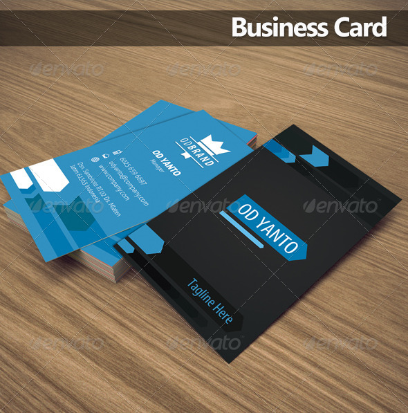 GraphicRiver Business Card OD2 5970567