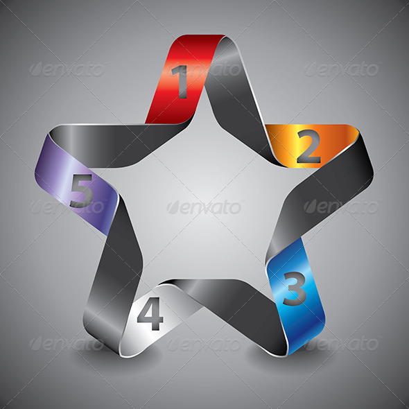 GraphicRiver Star Numbered Options 5971293