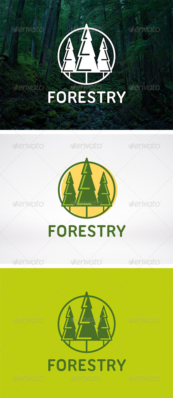 GraphicRiver Tree Logo Template 5971854
