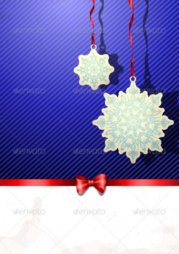 GraphicRiver Elegant Christmas Background 5971937
