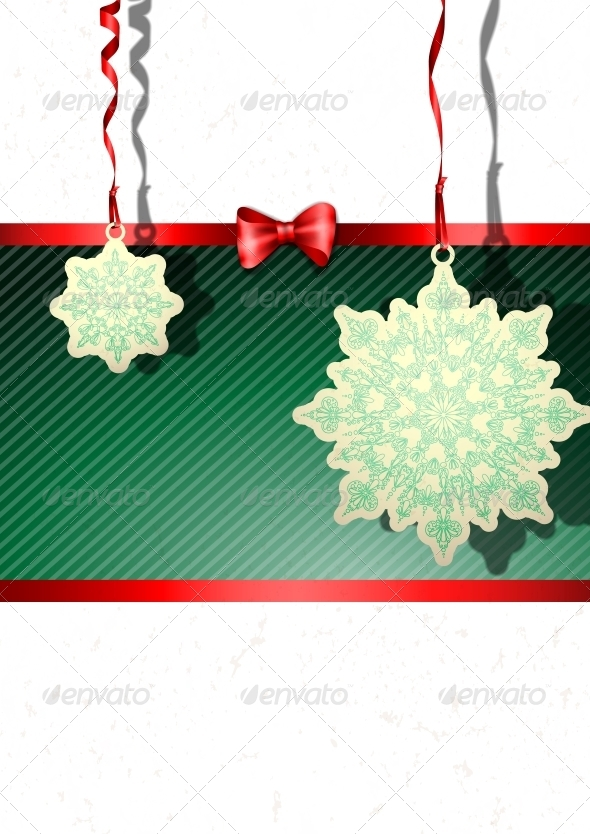 GraphicRiver Elegant Christmas Background 5971943