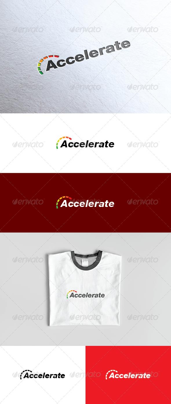 Accelerate Logo - Vector Abstract