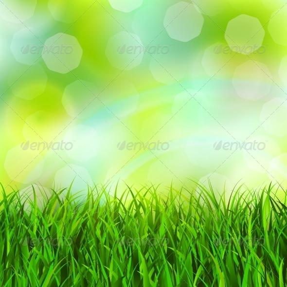 GraphicRiver Grass Background 5972225