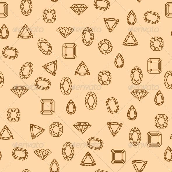 GraphicRiver Diamonds Pattern 5972251