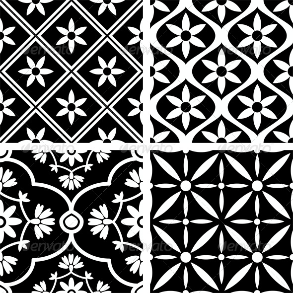 GraphicRiver Seamless Patterns 5972355