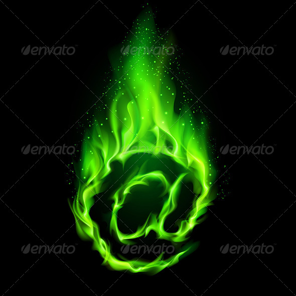 GraphicRiver Fiery E-mail Symbol 5972418