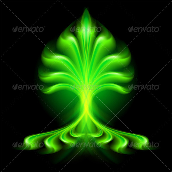 GraphicRiver Abstract Fire Flower 5972453