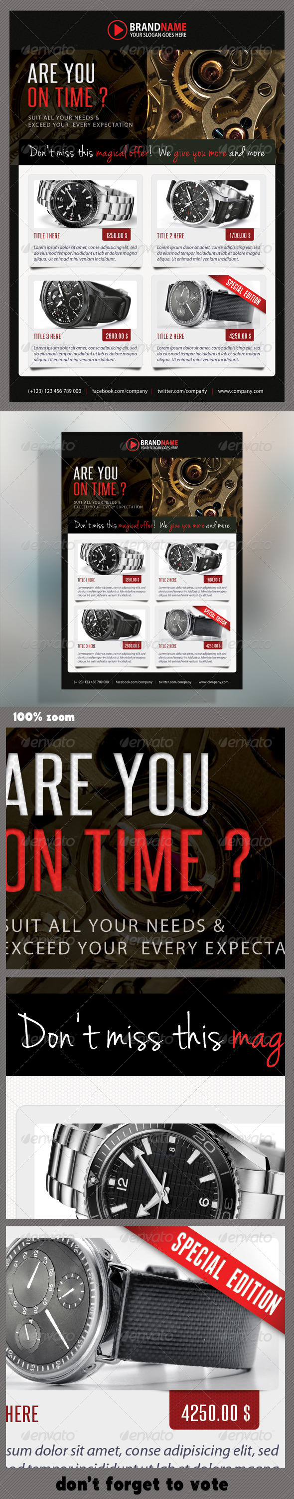 GraphicRiver Corporate Product Flyer 39 5972468